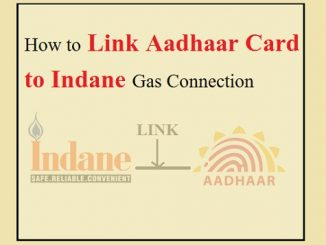 Link Aadhaar Card to Indane Gas Connection