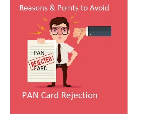 PAN Card Rejection