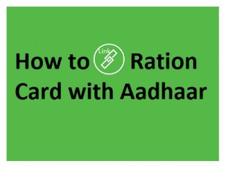 link Ration Card with Aadhaar Card