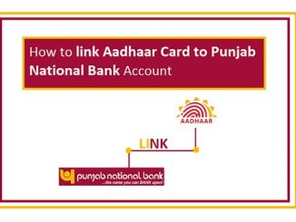 Punjab National Bank Aadhaar Link